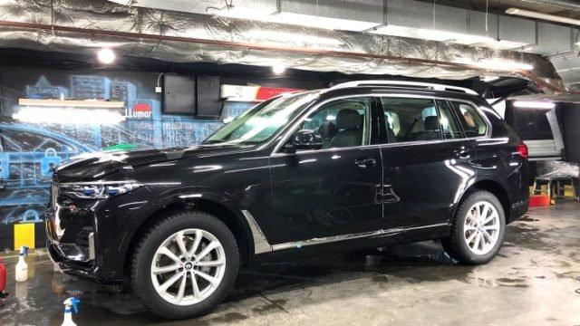 Тонировка стекол и оклейка BMW X7